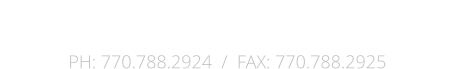 The Fisher Group, Inc.  P.O. Box 82287 / Conyers, Georgia 30013 PH: 770.788.2924  /  FAX: 770.788.2925